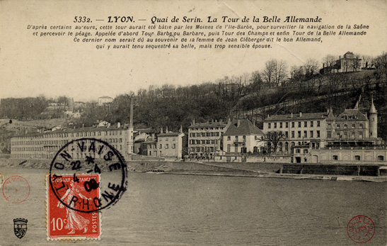 Illust : Le quai de Serin(...), 99.2ko, 547x347