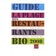 guide La Plage des restaurants bio