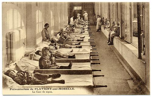 Vintage photographic postcard, 1925, A. Humblot et Cie., Nancy, France.