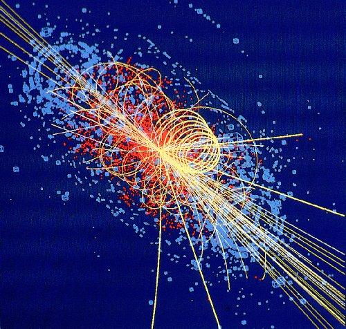 boson de higgs (vue d'artiste)