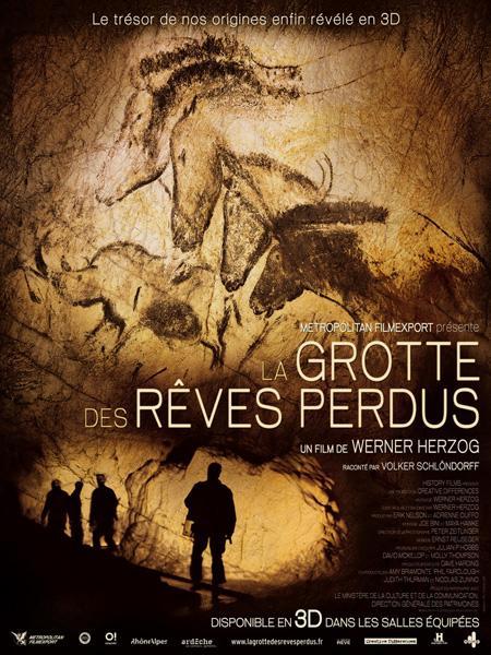 La grotte des rêves perdus, affiche du film