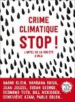 Crime climatique. STOP ! L'appel de la société civile