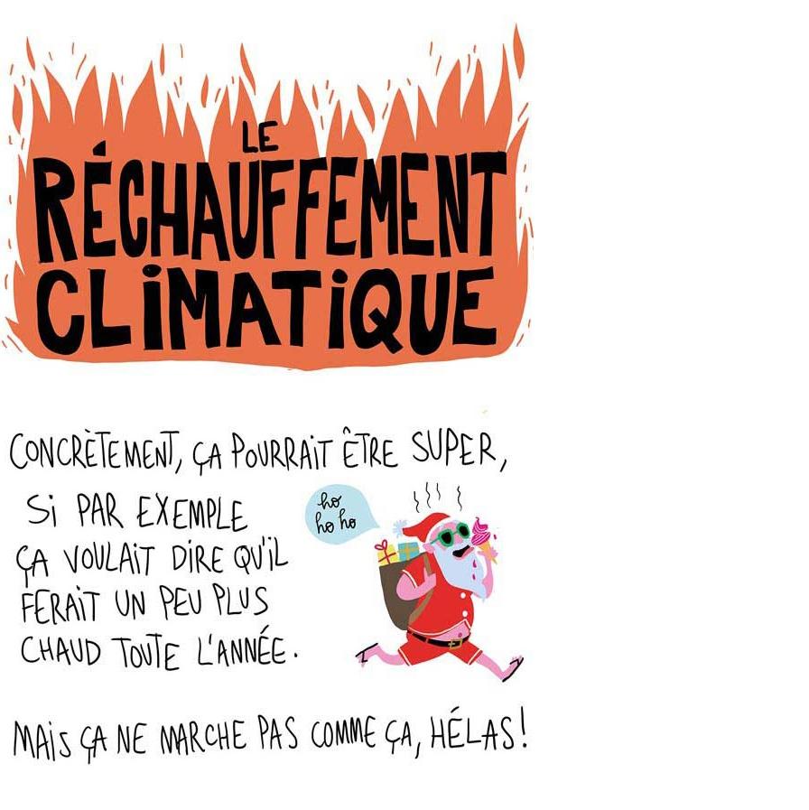 Le réchauffement climatique par Pénélope Bagieu