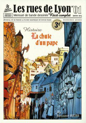 Couverture_Histoire La chute du pape- Numéro 1