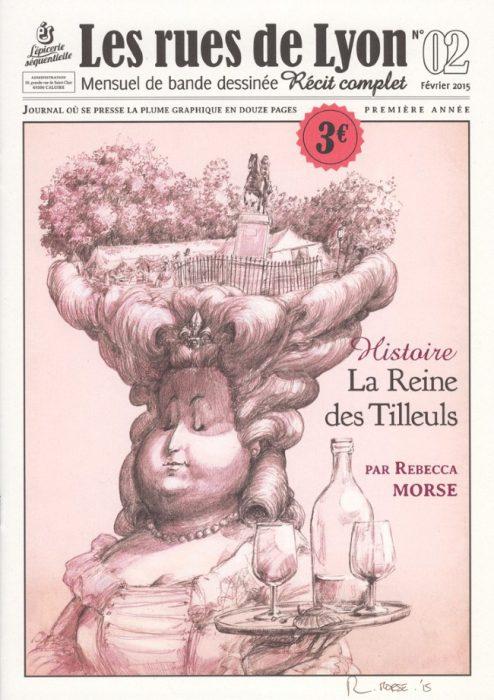 Couverture_Histoire La Reine des Tilleuls - Numéro 2