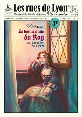 Couverture_La bonne amie du Roy - Numéro 4