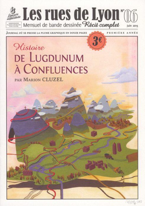 Couverture_Histoire de Lugdunum à Confluences - Numéro 6