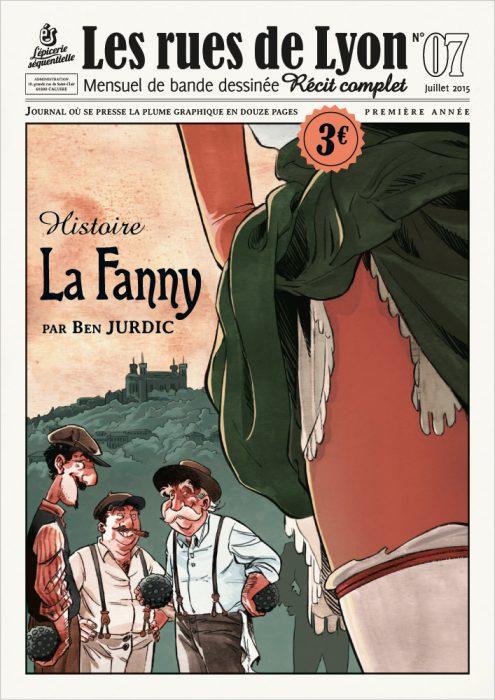 Couverture_Histoire La Fanny - Numéro 7