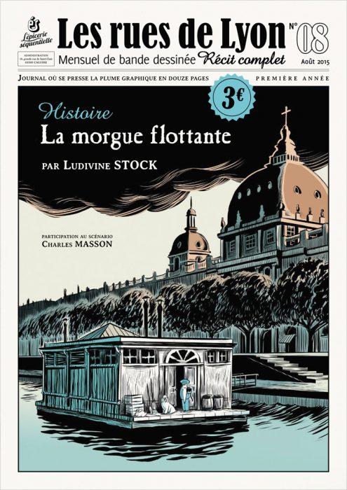 Couverture_Histoire La morgue flottante - Numéro 8