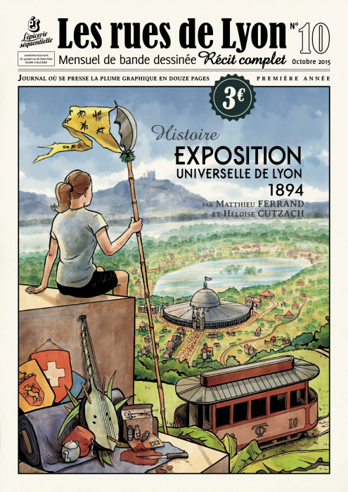 Couverture_Histoire Exposition universelle de Lyon 1894 - Numéro 10