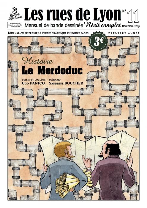 Couverture_Histoire - Le Merdoduc - Numéro 11