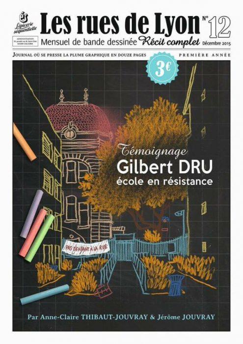 Couverture_Témoignage - Gilbert Dru, école en résistance - Numéro 12
