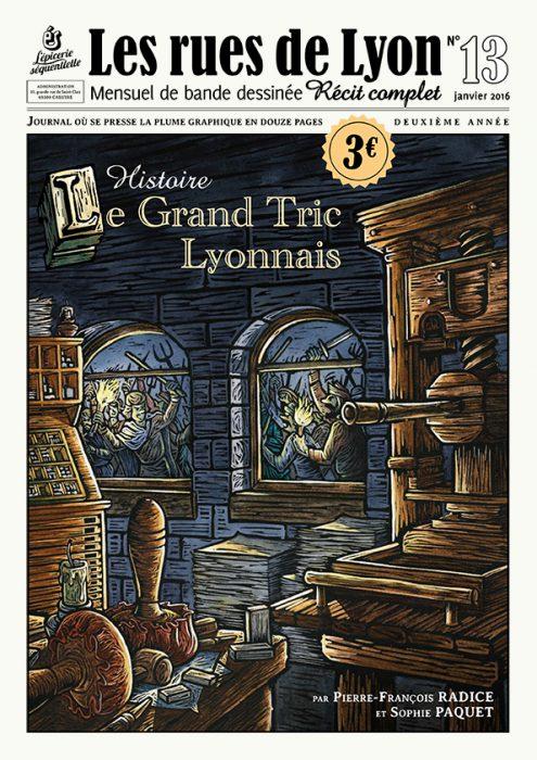 Couverture_Histoire - Le grand tric lyonnais - Numéro 13