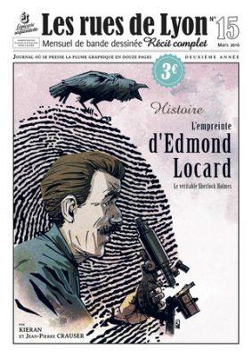 Couverture_Histoire - L'empreinte d'Edmond Locard - Numéro 15