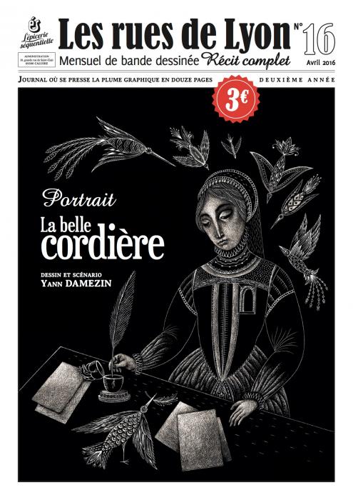 Couverture_Portrait - La Belle Cordelière - Numéro 16