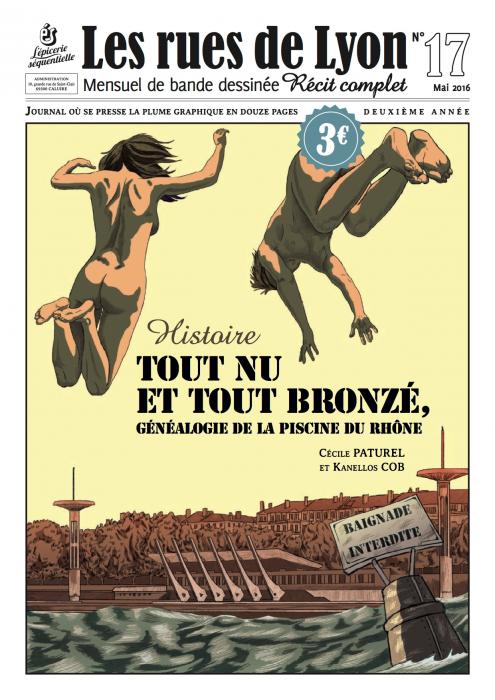 Couverture _Histoire - Tout nu et tout bronzé - Numéro 17