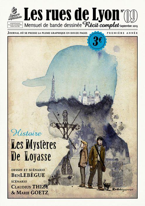 Couverture_Histoire Les Mystères de Loyasse - Numéro 9