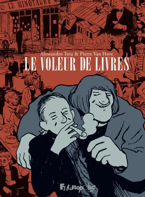 jacquette Le voleur de livres
