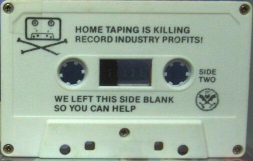 Dead Kennedys Tape side B - 21.5 ko