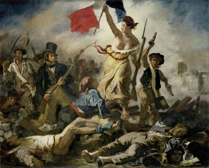 La Liberté guidant le peuple - Eugène Delacroix, 1830