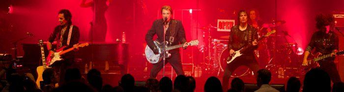 Concert de Johnny Hallyday