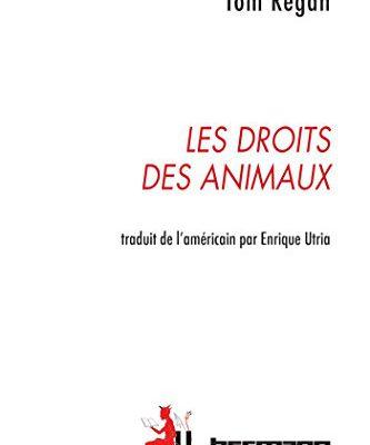 """Jaquette du livre """"Le droit des animaux"""""""