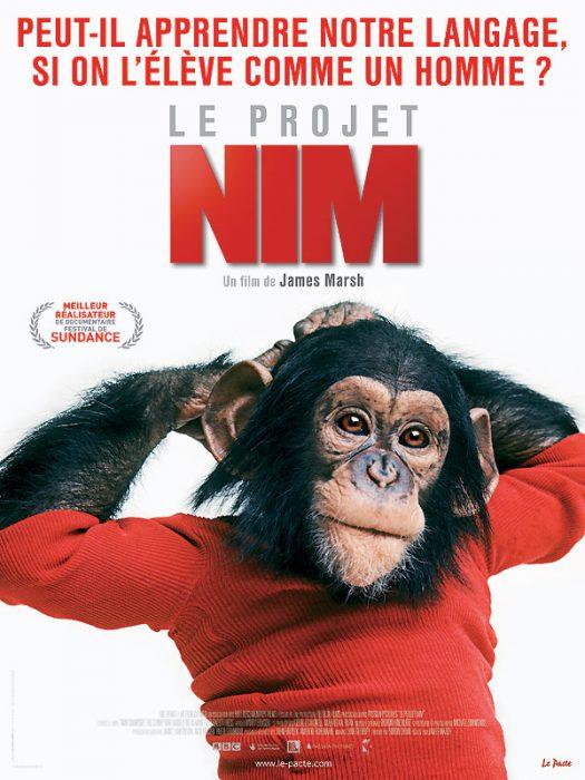 """Jaquette du DVD """"Le projet Nim"""""""