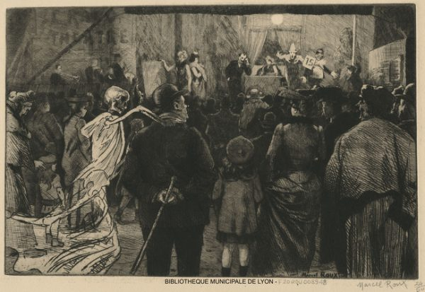 La Fête (Ceux qu'elle surprend) par Roux, Marcel, 1878-1922 Bibliothèque municipale de Lyon. Cote : F20ROU00894. Numelyo