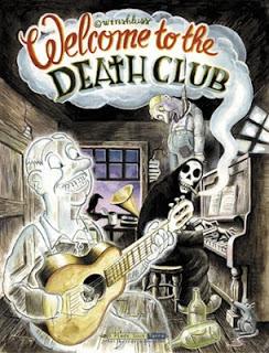 Première de couverture. Welcome to the death club de Winshluss, éd. 6 pieds sous terre, 2002
