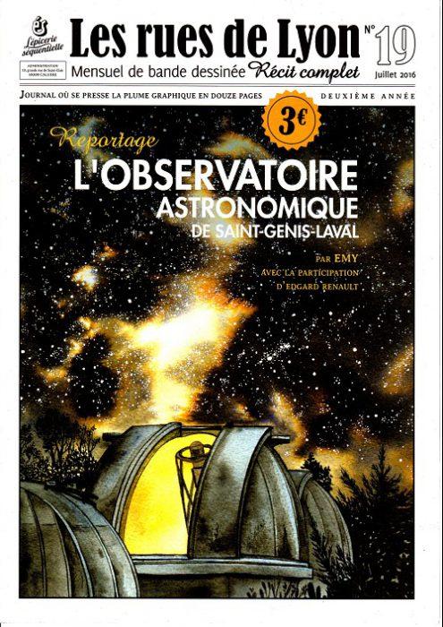 Couverture_Reportage_L'observatoire astronomique de St -Genis-Laval - Numéro 19