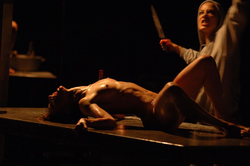 jacquette Jan Fabre, le cannibale