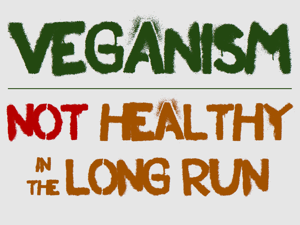 Slogan anti-vegan