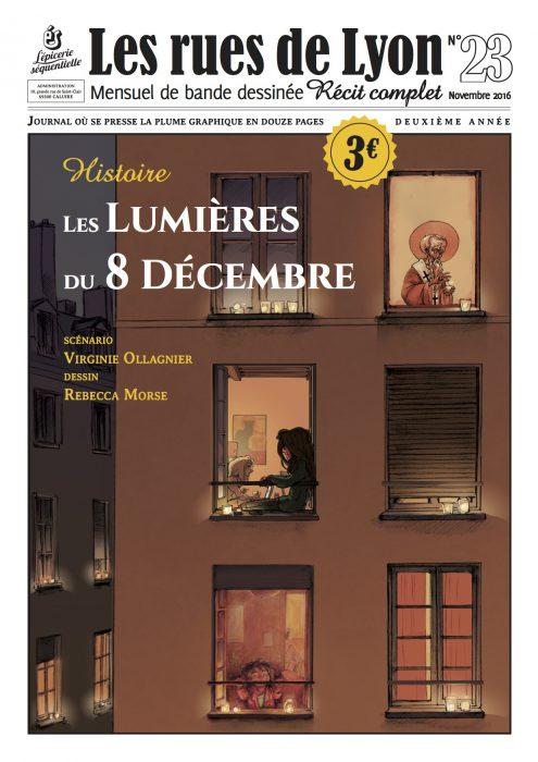 Couverture du numéro 23 - Les lumières du 8 décembre