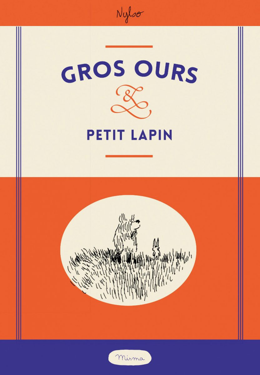 jacquette Gros ours & petit lapin