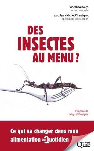 jacquette Des insectes au menu ? : ce qui va changer...
