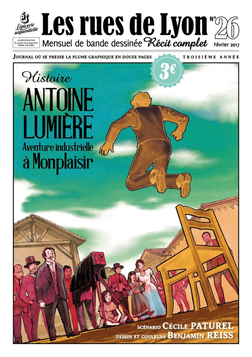 Couverture du numéro 26_Histoire Antoine Lumière