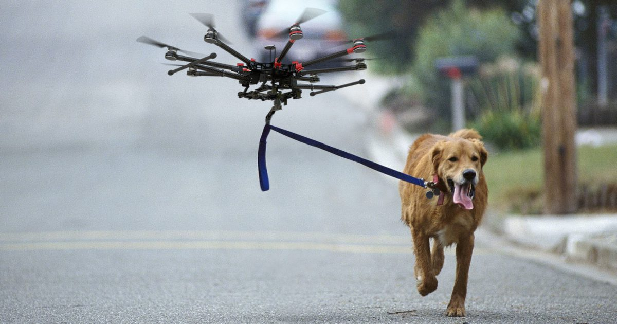 jacquette Adopte un drone