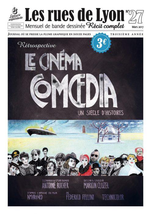 Couverture du numéro 27_Retrospective Le Cinéma Comoedia