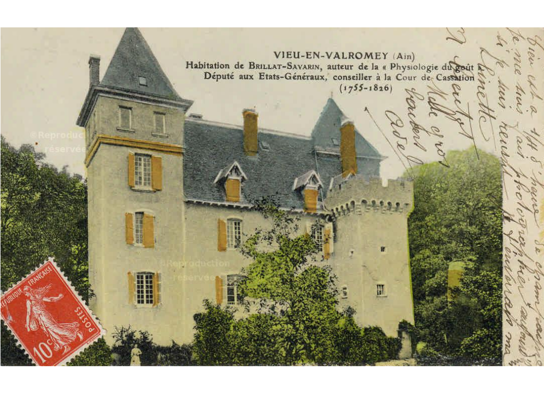 """Résultat de recherche d'images pour """"maison de brillat savarin champagne en valromey"""""""