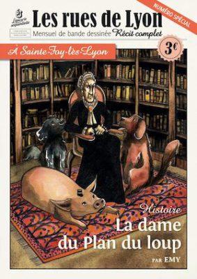 Couverture Numéro Spécial à Sainte-Foy-lès-Lyon : la dame du Plan du loup