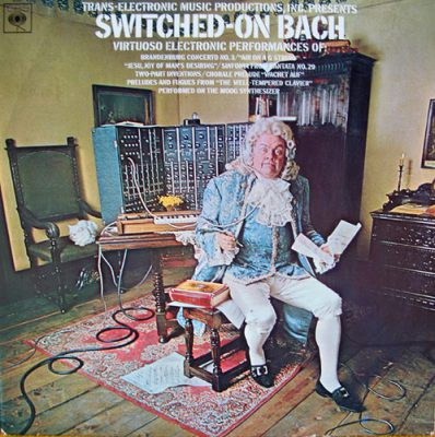 pochette du disque Switched-on-Bach