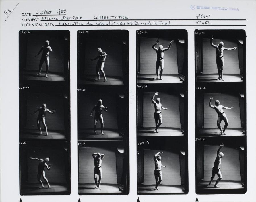 jacquette Histoire du mime