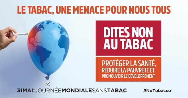 jacquette Journée mondiale sans tabac