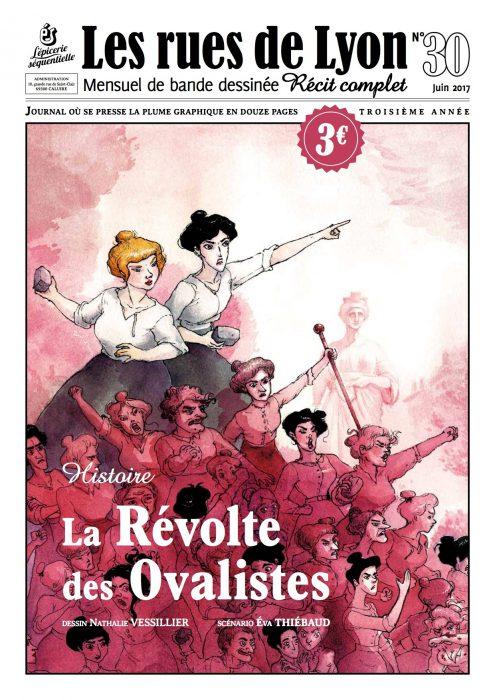 Couverture du numéro 30_ La révolte des Ovalistes
