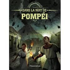jacquette Dans la nuit de Pompéi
