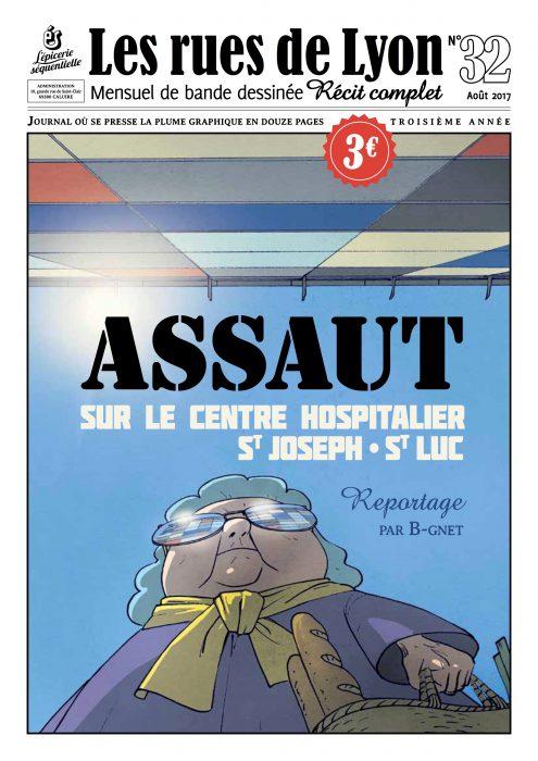 Couverture du numéro 32_ Reportage sur le contre hosiptalier St Jospeh-St Luc