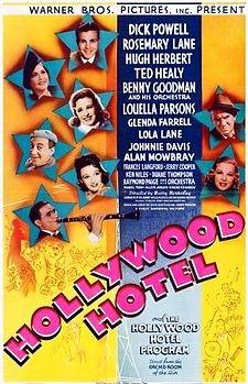 Affiche de Hollywood Hotel