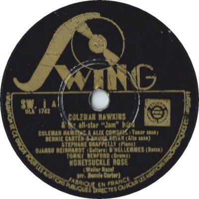 Label de la référence n°1 des disques Swing