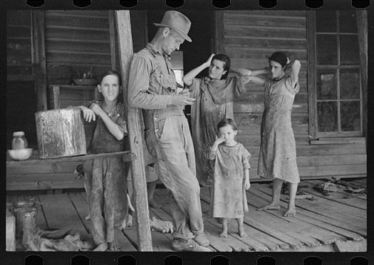 jacquette Etats-Unis : portraits de la Grande Dépression