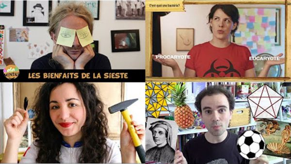 jacquette Sur Youtube, la science infuse et se diffuse